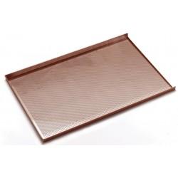 Aluminium tray geperforeerd met anti-aanbaklaag