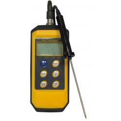 Schokbestendige thermometer met stiftsonde