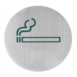 Muurschild ''Roken''