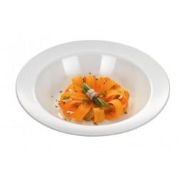 Melamine pasta schaal rond