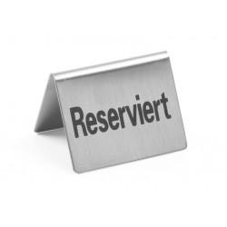 Tafelstandaard ''Reserviert''