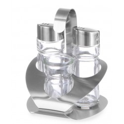 Menage 3-delig peper, zout, tandenstokerhouder
