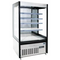 Polar RVS multideck displaykast 1000 liter