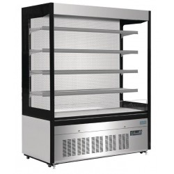 Polar RVS multideck displaykast 1500 liter