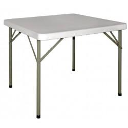 Vierkante opklapbare tafel