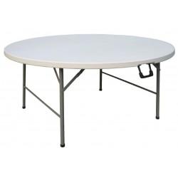 Inklapbare ronde tafel