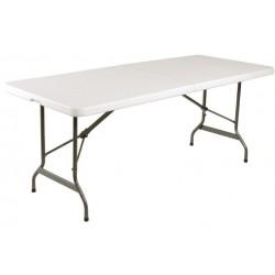 Inklapbare buffettafel 183 cm wit