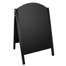 Stoepbord met metalen frame