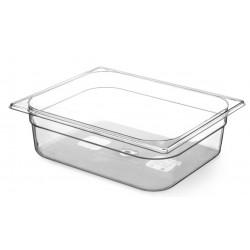 Gastronormbak 1/2 GN Tritan BPA vrij