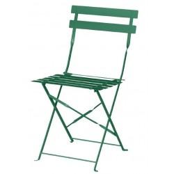 Bolero opklapbare stoel donkergroen 2 stuks