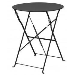 Bolero opklapbare ronde tafel zwart