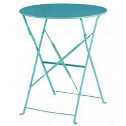 Bolero opklapbare ronde tafel blauw