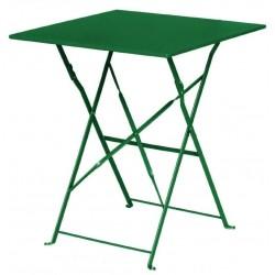 Bolero opklapbare vierkante tafel donkergroen