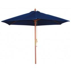 Ronde parasol Bolero Blauw 2,5 meter