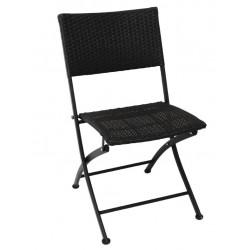 Opklapbare rotan stoelen (2 stuks)