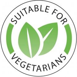 Stickers voor vegetarische gerechten