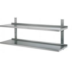 Wandplank 2 planken 1200x355x600mm
